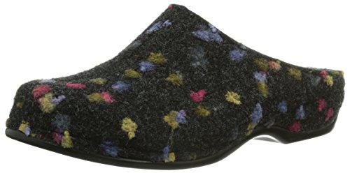 Berkemann Damen Donata Pantoffeln, Mehrfarbig (grau Tupfen 914), 37.5 EU