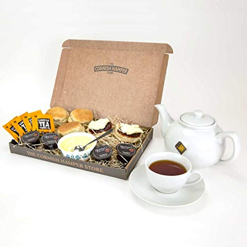 Postal Hampers - Cornish Cream Tea Hamper