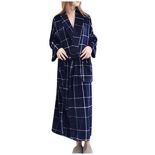 Susenstone Peignoir Femme Polaire Sexy Hiver Chaud Pyjama Flanelle Chic Robe De Chambre Longue Kimono Femme Nuit Pas Cher VêTements De Nuit
