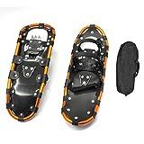 22-29In Raquetas De Nieve, Skiboard Ajustable para Hombres Y Mujeres, Esquís con Marco De Aluminio, Snowboard para Caminar sobre La Nieve,25in