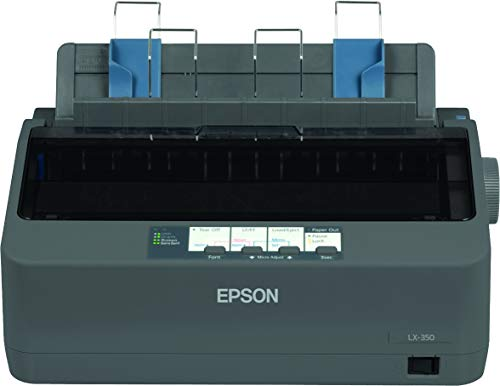 Epson LX-350 EU Matrixdrucker (9-Nadeln, USB 2.0) schwarz, 43cm