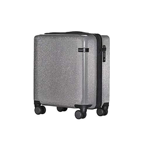Lyl Web Celebrity Maleta, Maleta de piel fresca pequeña con contraseña universal de la rueda del tirón de la maleta, Pink (Rosa) - yh5436