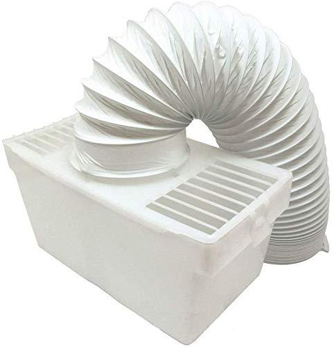 Utiz Kit de ventilación de condensador interior para secadora con manguera para White Knight Beko Creda Hotpoint