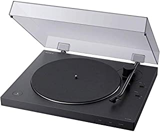 Sony LX310BT | Belt Drive Turntable | Fully Automatic Wireless Vinyl Record Player with Bluetooth and USB Output - Black (...