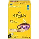 Gevalia Dark Royal Roast Coffee Keurig K Cup Pods (12 Count)