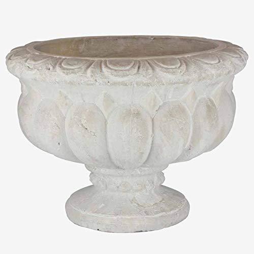Better & Best 3001254 Jardinera gallones ancha piedra con forma de copa,...