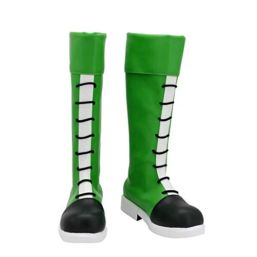 Hunter×Hunter GON Freecss Cosplay Shoes Green Costume Boots