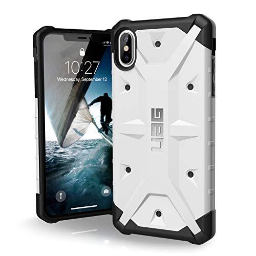 Urban Armor Gear Pathfinder per Apple iPhone Xs Max Custodia protettiva Cover con standard militare americano case [Compatibile con il Qi wireless] - bianco