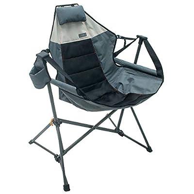 Foldable Hammock Chair Lounger - Grey