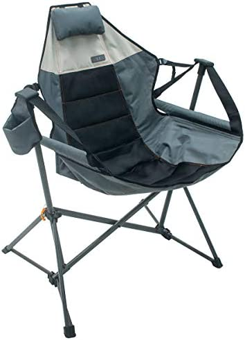Foldable Hammock Chair Lounger Grey product image