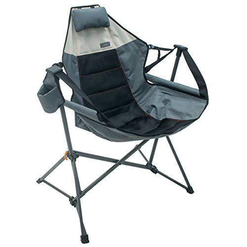 Foldable Hammock Chair Lounger  Grey