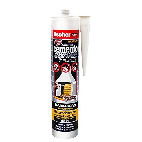 fischer Cemento Express Barbacoas/ (Cartucho de 1 Uds), 514853, gris