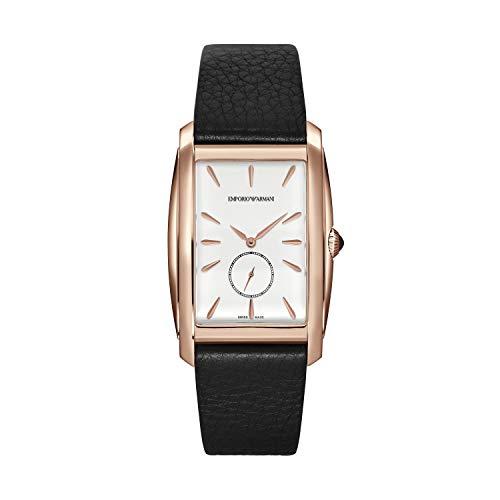 Emporio Armani Reloj Analogico para Hombre de Cuarzo con Correa en Piel ARS8351