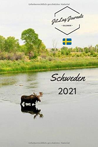 Schweden Kalender 2021: Kalender für 12 Monate • Schweden Geschenk • Taschenkalender 2021 • Schweden Bildkalender • Wochenkalender Weekview (Sehnsuchtskalender 2021, Band 6)