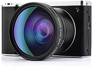 Digital Camera,Vlogging Camera 4.0 Inch Touch Screen 24MP FHD 1080P Wide Angle Lens YouTube Camera 8X Digital Zoom Camera ...