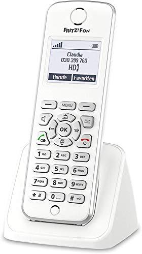 AVM FRITZ!Fon M2 DECT-Komforttelefon (für FRITZ Box Monochromes Display, HD-Telefonie) deutschsprachige Version