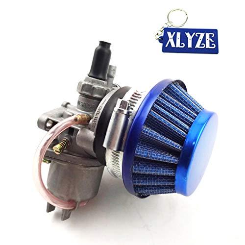 XLYZE Carburador Carburador Carb Pila de filtros de aire para 2 tiempos 47cc 49cc Mini Moto Dirt Pocket Bike ATV Go Kart