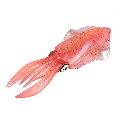 Toyvian Tintenfisch Krake Figur Simulation Oktopus Meerestiere Spielzeug Geschenk für Kinder Baby Aquarium Deko