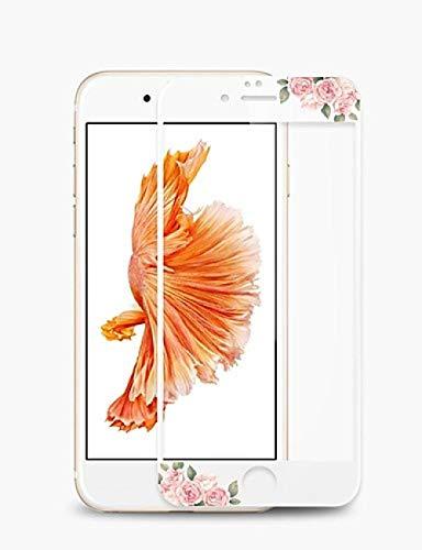 HNKHKJ Tres Piezas de Vidrio Templado de Cubierta Completa 10D para Apple iPhone X XS MAX XR Protector de Pantalla Vidrio Protector aifon 7 8 Plus xrs sx Film-for_iPhone_7plus_8p
