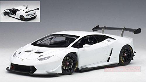AUTOart AA81557 Lamborghini Huracan Super Trofeo 2015 Bianco ISIS 1:18 Die Cast Compatible con