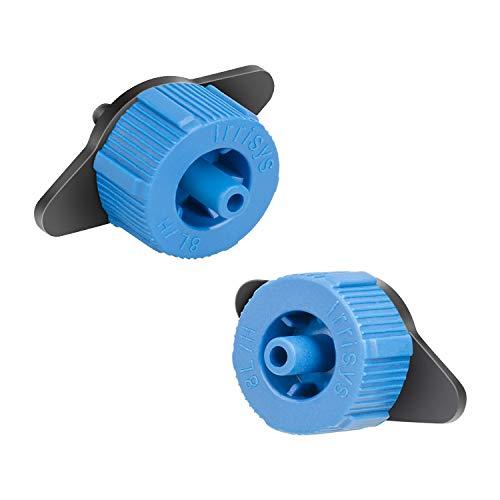 HIMETSUYA 100 Stück Bewässerung Tropfer Sprinkler, 8L / H Micro Flow Tropfbewässerung Drip Emitter Bewaesserung Sprinkler Bewaesserung Tropf Tropf System