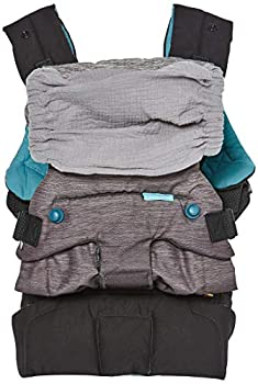 Infantino Go Forward Evolved Carrier - Ergonomic face-in and face-Out Front and Back Carry for Newborns and Toddlers 8-40 lbs