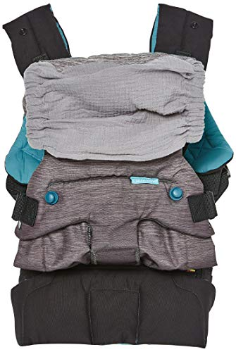 Infantino Go Forward Evolved Carrier - Ergonomic face-in and face-Out, Front and Back Carry, for Newborns and Toddlers 8-40 lbs