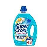 Super Croix Bora Bora - Lessive Liquide - Fleur de Monoï - 43 lavages, 2,15L