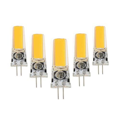 TTaceb GlüHbirne Dunstabzugshaube KüHlschrank GlüHbirne LED G4 Glühbirnen LED-Glühbirnen für die Innenbeleuchtung Nachtglühbirnen Badezimmer Glühbirnen 2,warm White