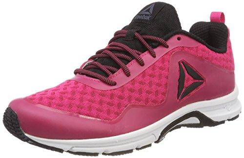 Reebok Damen Triplehall 7.0 Laufschuhe, Pink (Overtly Pink/Black/White/Ash Grey), 42.5 EU
