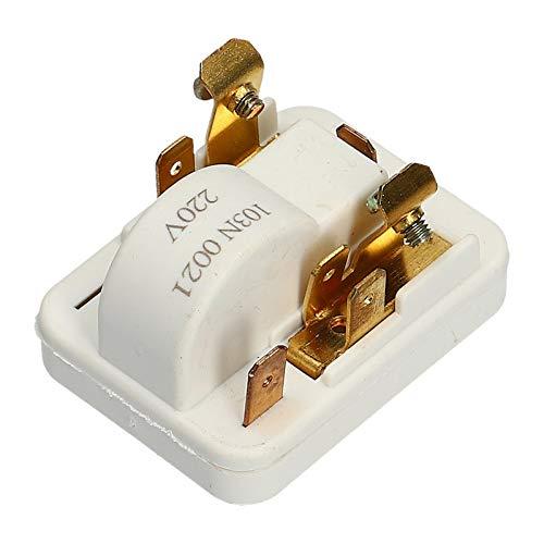 Anlassvorrichtung Anlaufrelais Startrelais Danfoss 103N0021 für AEG 2425144017 Bosch 00151055 Kühlschrank Kompressor