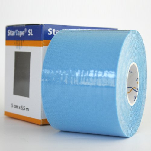 Star-Tape Kinesiologie-Tape 5,5m x 5 cm, blau