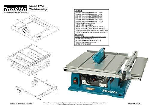 Makita 418917-7-6277 afzuigkap, origineel vervangend onderdeel 2704