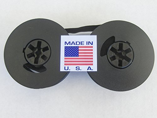FJA Products Universal Typewriter Ribbon Twin Spool Black 1/2' Ribbon