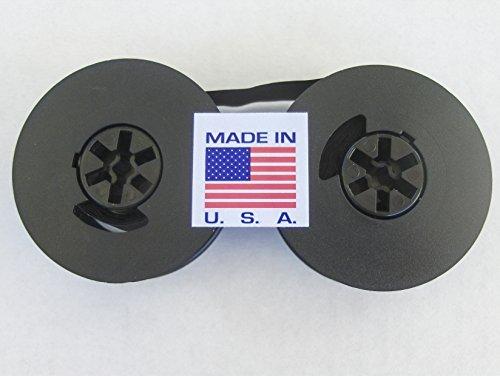 FJA Products Universal Typewriter Ribbon Twin Spool Black 1/2' Ribbon on 2 inch Spool