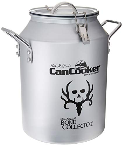CanCooker BC-002 Can Cooker Bone Collector, Round, Silver