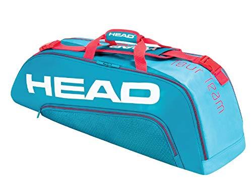 HEAD Unisex-Erwachsene Tour Team 6R Combi Tennistasche, blau/pink