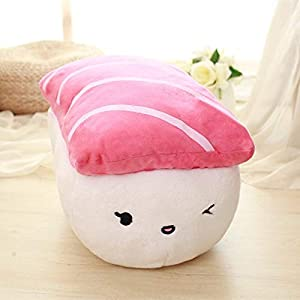 YUNZHI Plush Toys 1pc 40cm Creative Japan Sushi Shape Simulation Food Doll Plush Toys Stuffed Soft Pillow Kawaii Cushion…