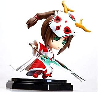 Game PVC Action Figures 14cm Blitzcrank Akali Yasuo Graves Vi Braum Collectible Model Toys (Akali)