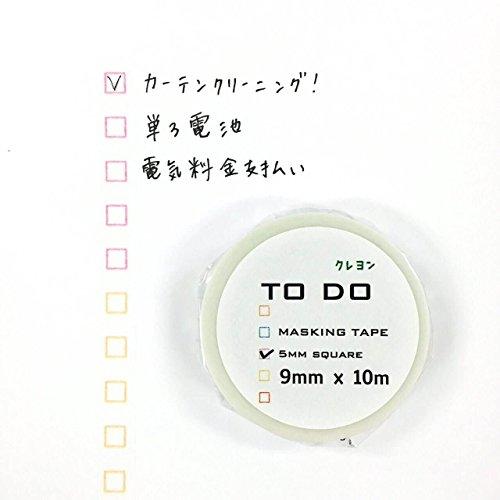 icco nico(イッコ ニコ) TODOマステ クレヨン 5mm角