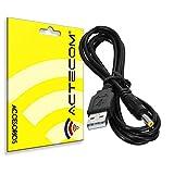 actecom Cable de Cargador Fuente Alimentación USB Consola Videojuego Compatible con Sony PSP 1000 2000 3000