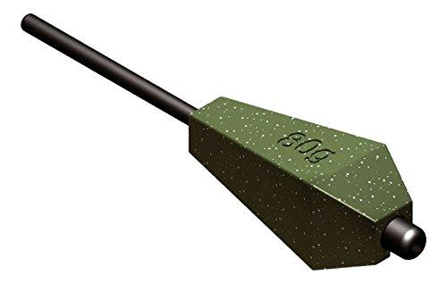 SURETTI Angelblei Inline-Torpedo Karpfenblei, grün, 100 g x 6 Stück, 7222901A