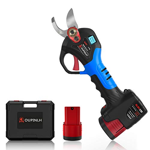 OUPINLH Pila eléctrica con 2 pilas compactas de 16,8 V, 2000 mAh,...