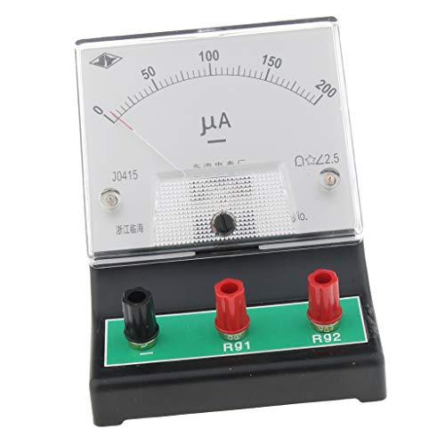 Homyl Misuratore Microamper Laboratori Amperometri Analogici per Termocoppie Fotoelettrico Efficace