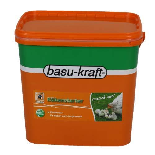 BASU Kükenstarter 7 kg unpelletiert - Alleinfuttermittel für Küken ab dem 1. Lebenstag - Geflügel Hühner Küken Futter Kükenmehl Hühnerfutter