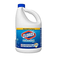 For use in HE and standard washing machines. Excellent antibacterial, germicidal and fungicidal properties. A registered disinfectant that kills up to 99.9% of household germs and bacteria. Clean, disinfect, and deodorize with the power of Clorox Ble...