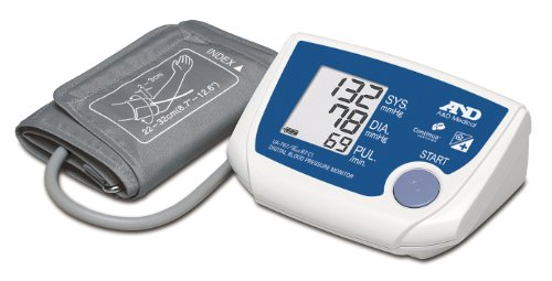 A&D Medical UA-767PBT-Ci - Tensiómetro de brazo eléctrico, color blanco