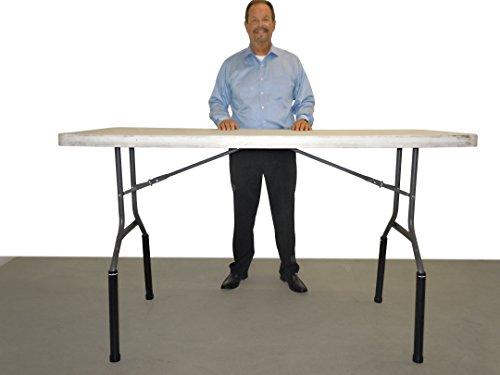 Lift Your TableTM Folding Table risers Extenders (Standing Desk Kit)
