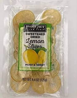 Trader Joe's Sweetened Dried Lemon Slices (Pack of 3)