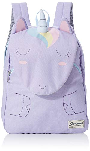 Samsonite Happy Sammies - Kinder-Rucksack S+, 31 cm, 11.5 L, Lila (Unicorn Lily)